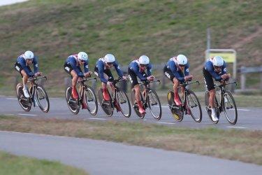 Amerika wint ploegentijdrit ter opening Olympia's Tour
