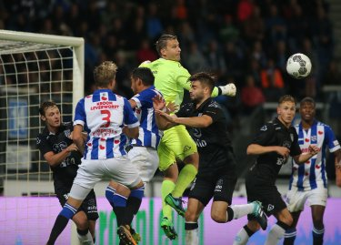 Heracles loopt in de slotseconde twee punten mis