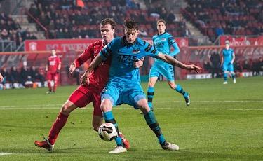 Nederland,    FCTwente-AZ67 20dec2016  Nederland, Enschede, Grolsch Veste 20dec2016 eredivisie wedstrijd FCTwente-AZ67 1-2