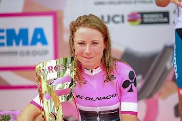 15-07-2018: Wielrennen: Giro Rosa: Cividale Friuli  Annemiek van Vleuten wint de 29e Giro Rosa