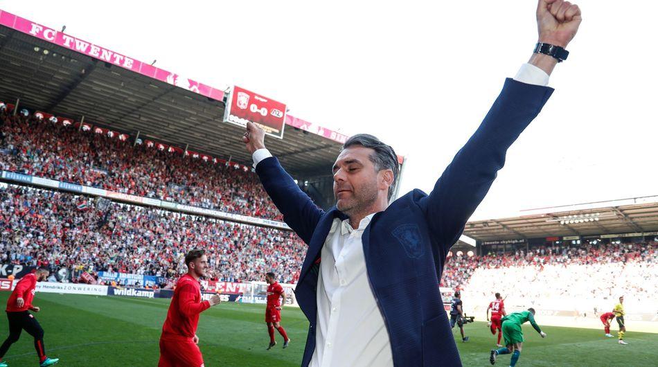 FC Twente dankzij PSV terug waar het hoort, in eredivisie