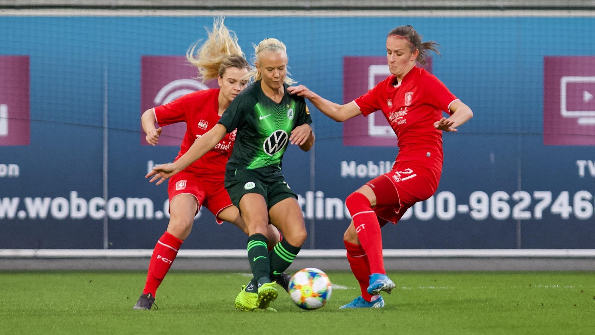 Zwaar verlies Twente Vrouwen bij en tegen Vfl Wolfsburg